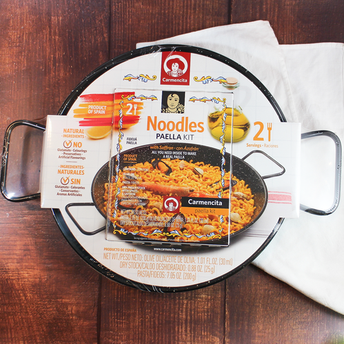 Carmencita Fideua Paella Kit, Gourmet Spanish products online for Paella Noodle | The Spanish Store Toronto, Ontario shop online Spanish food