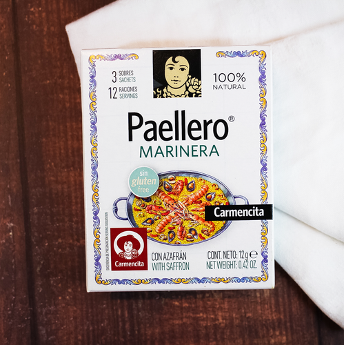 Carmencita Seafood Paellero Mix, Make Spanish paella at home easily | Paella Spanish Food spanishstore Toronto Ontario Hamilton On