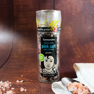 Carmencita Himalayan Pink Salt with Pepper | The Spanish Store