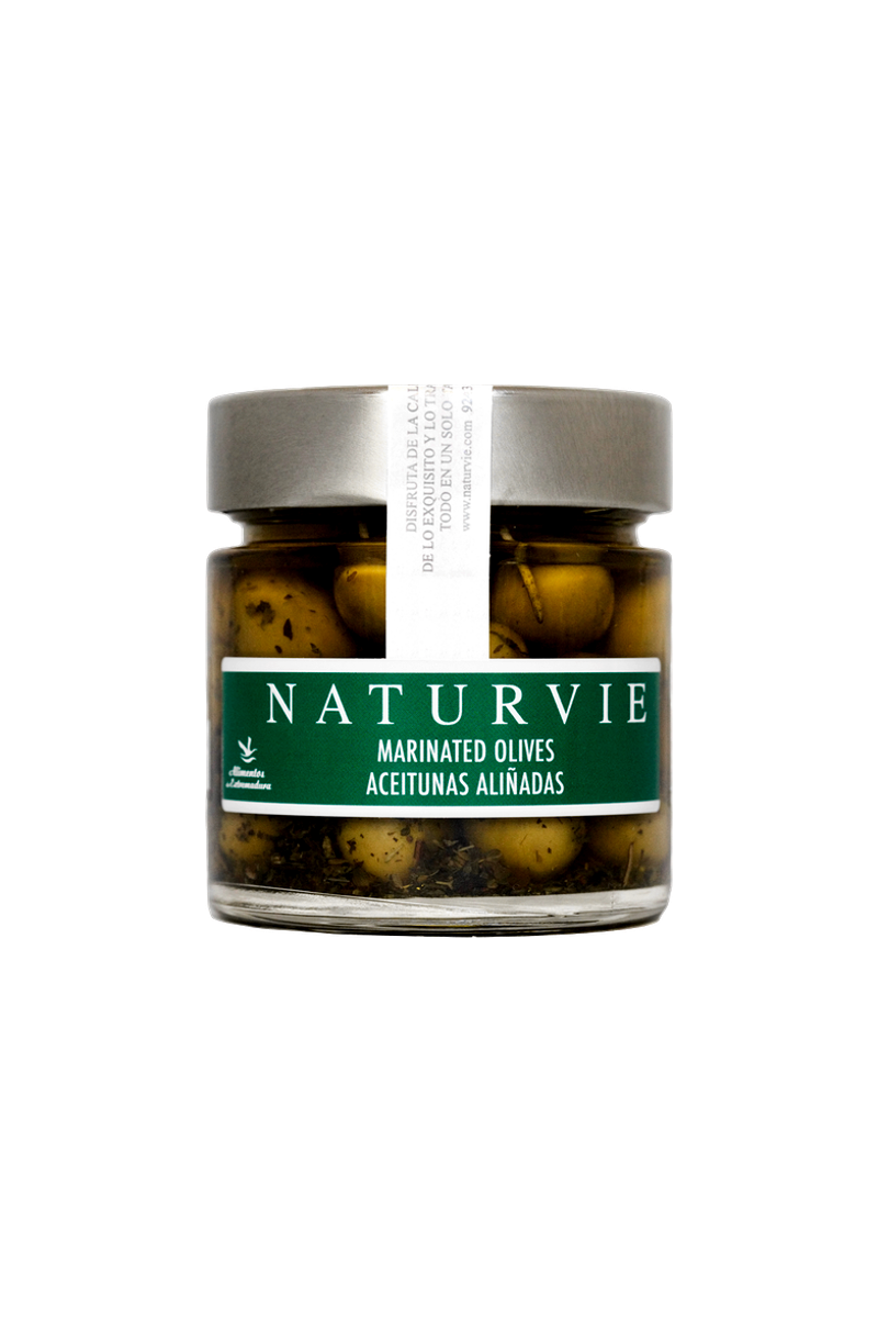 Naturvie Marinated Olives | Conservas Spanish Tapas Night | Shop online for Spanish imports delivered to homes in Canada
