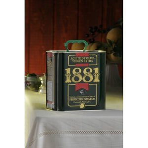 Can of 1881 Extra Virgin Olive Oil , the Spanish Store, Shop Spanish products online, Toronto Ontario