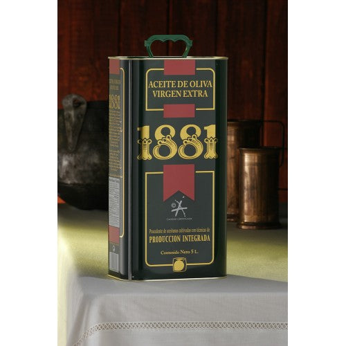 1881 Extra Virgin Olive Oil 5 L can
