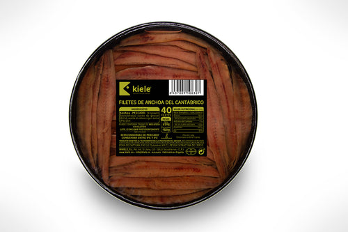 Kiele Cantabrian Anchovy in Olive Oil - 50 Fillets