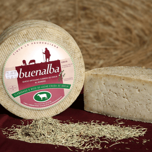 Buenalba Sheep Cheese with Paprika / Rosemary / Wine