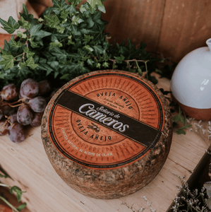 Señorio de Cameros Sheep Cheese Cured 12 months 2.5kg approx. Spanish cheese | Spanish Imports Gourmet Grocery Food Shop Online The Spanish Store