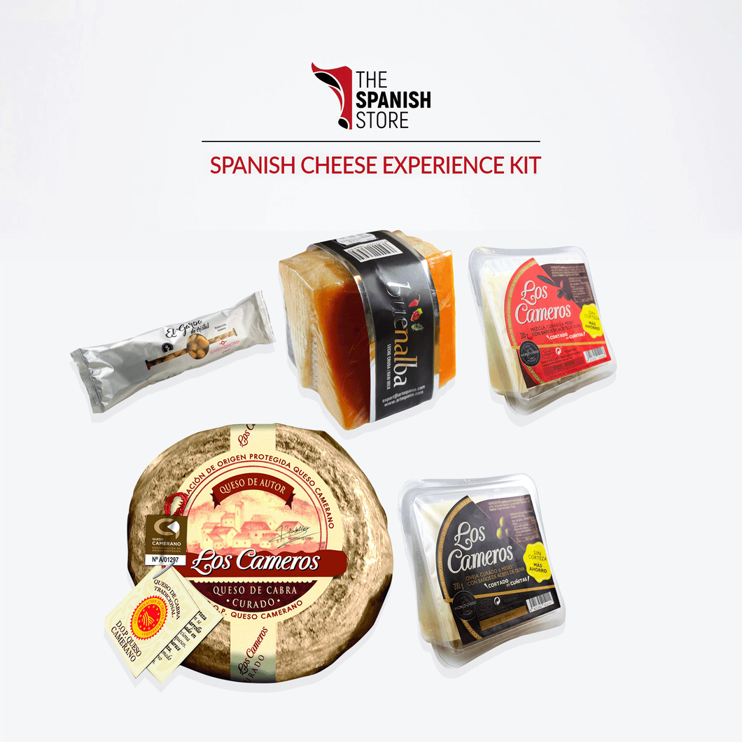 Spanish Cheese Experience Kit