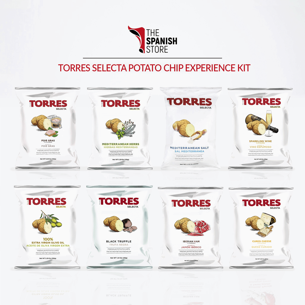 Torres Selecta Premium Potato Chip from Spain Snacking Kit | Spanish Imports Gourmet Grocery Food Shop Online The Spanish Store