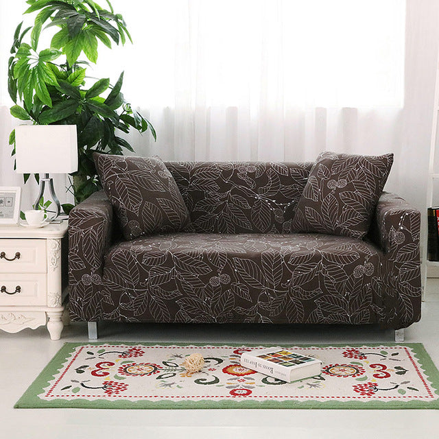 Beau ... Flower Slipcover Single/double/three/four Seat Sofa Cover Color 20 ...