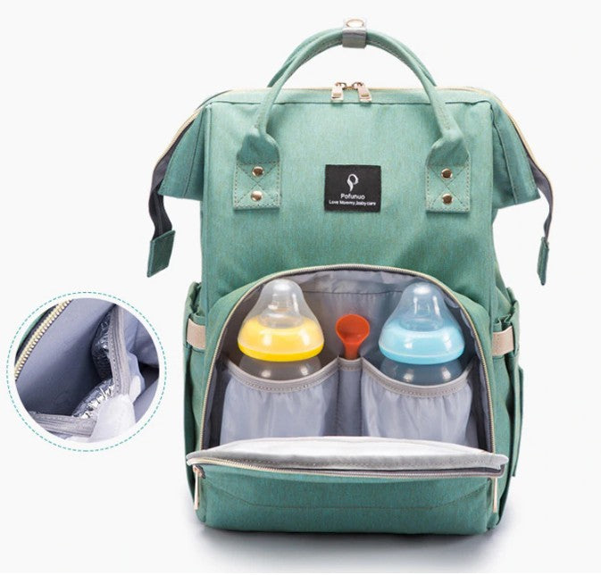 Premium USB Nappy Backpack