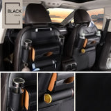 car seat leather vehicle automobile organizer mess