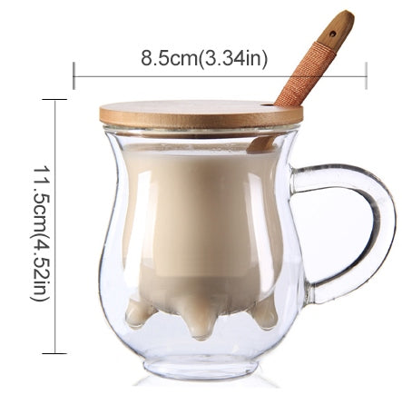 Luxury Double Wall Glass Mug