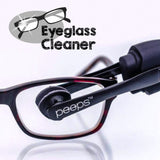 Peeps™ - Eyeglass Cleaner Tool Cleans Lenses Without Spray