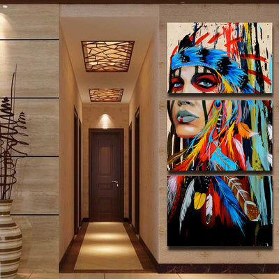 Fantastic Frame Pictures Painting By Numbers Diy Digital Oil Painting On Canvas Walking In The Rain Home Decoration 40x50cm Home