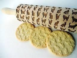 Cat Love Embossing Rolling Pin - Greyson&Co
