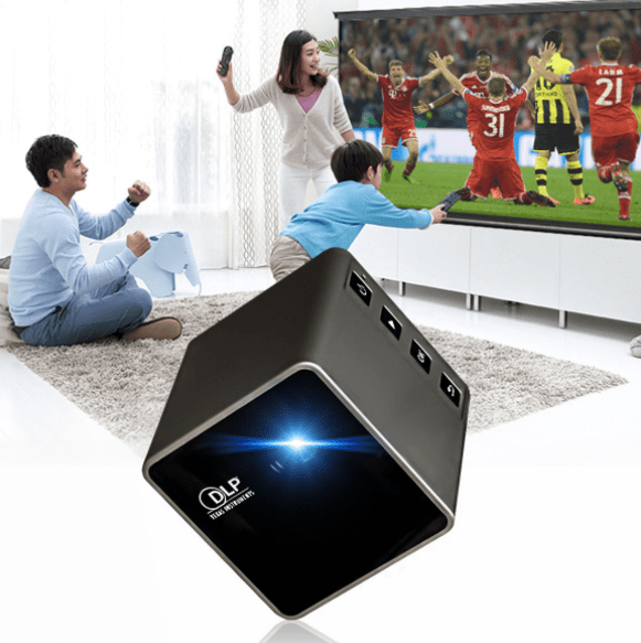 Smart Beam Portable Mini Wifi Projector - Greyson&Co