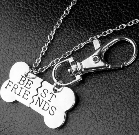 Matching Dog Friendship Necklace - Greyson&Co