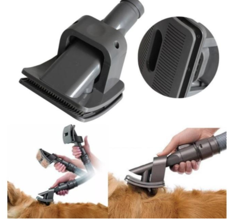 Vacuum Grooming Brush for Pets - Greyson&Co