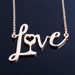 Love Wine Necklace - Greyson&Co