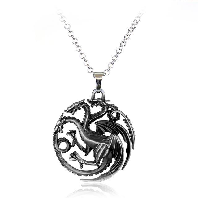 Dragon Pendant Necklace - Greyson&Co