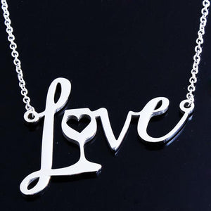 Love Wine Necklace FREE + Shipping - Greyson&Co