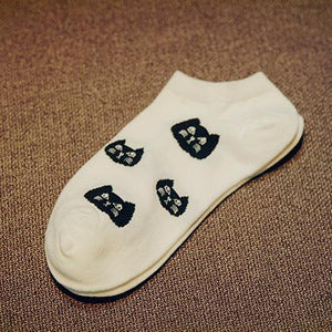 Cat Ankle Socks - Greyson&Co