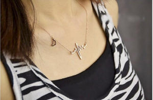 Heartbeat Necklace - Greyson&Co