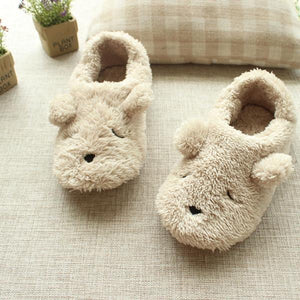 Sleepy Dog Slippers - Greyson&Co
