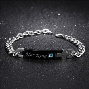 'His Beauty & Her Beast' Couple Bracelet - Greyson&Co
