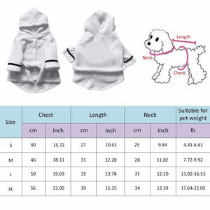 Cashmere Dog Bathrobe - Greyson&Co