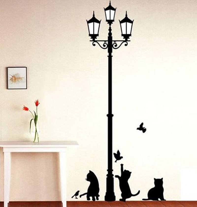 Cat Decal Room Decor - Greyson&Co