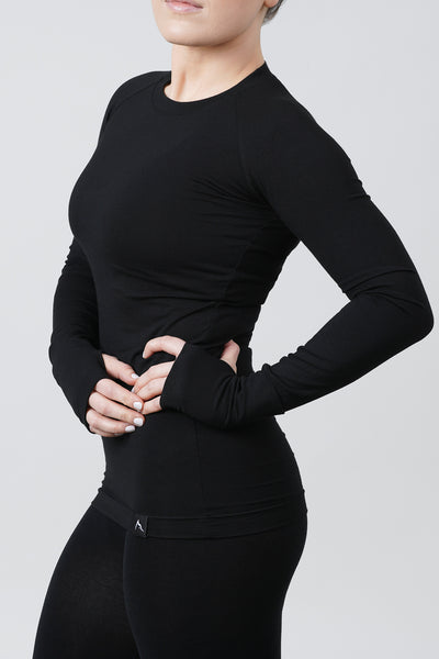 ROKWOLF Layover Long Sleeve Matte Black