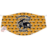 Fashion Face Cover - Lightweight Fabric Adult Size Face Cover - Reusable and Washable Face Cover - Dust Cover - Bus Driver