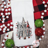 Best Time Of The Year - Christmas Decor Hand Towel - Kitchen Accessories