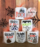 Halloween Toilet Paper - Party Favor - Halloween Decor - Toilet Paper with Vinyl Sayings
