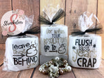 New Years Toilet Paper - Gag Gifts - New Years Eve Party Favors  - Toilet Paper with Vinyl Sayings