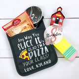 Glad I'm A Pizza Your Class - PotHolder Gift Set - Teacher Gift Set