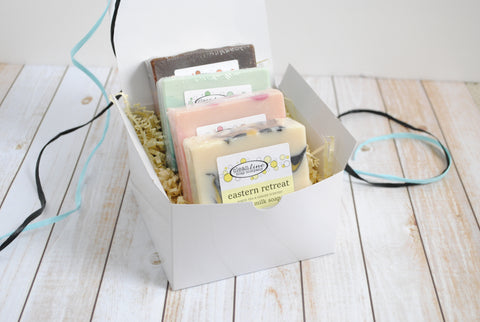 Four Soap Gift Box