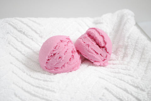 Rose Scented Bubble Bath - King's Garden Solid Bubble Bath Scoop