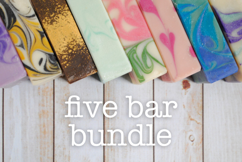 Five Bar Sampler Set - Five Soap Bundle
