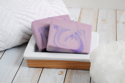 Purple Repose Lavender Scented Goat Milk Soap