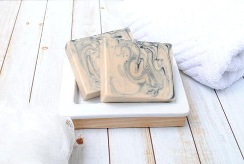 Autumn Smoke Goat Milk Soap - Fall Scented Handmade Soap