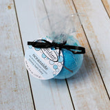 Oceanside Sea Salt and Vetiver Scented Bath Fizzy with Shea Butter