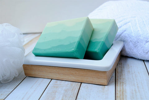 Refresh-mint Eucalyptus Mint Goat Milk Soap