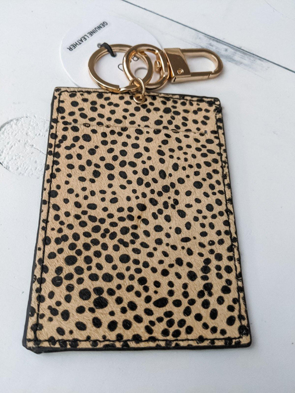 Animal ID Card Keychain - IronFox Clothing