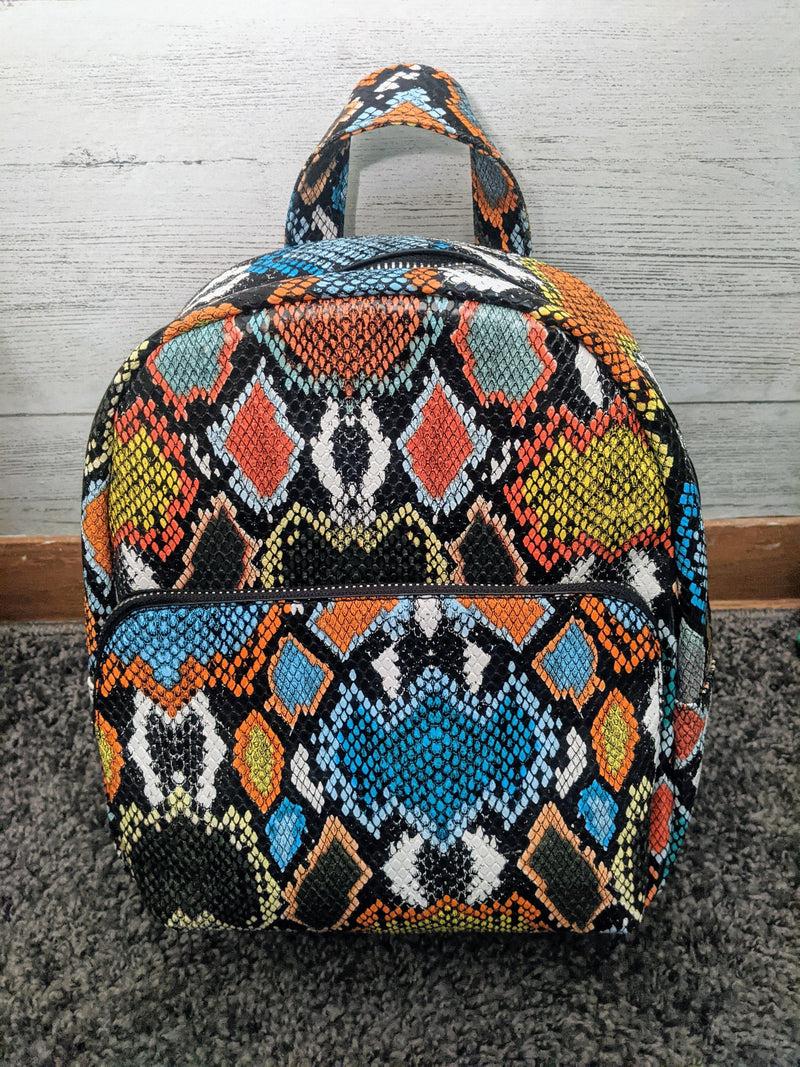 Backpack of Many Colors - IronFox Clothing