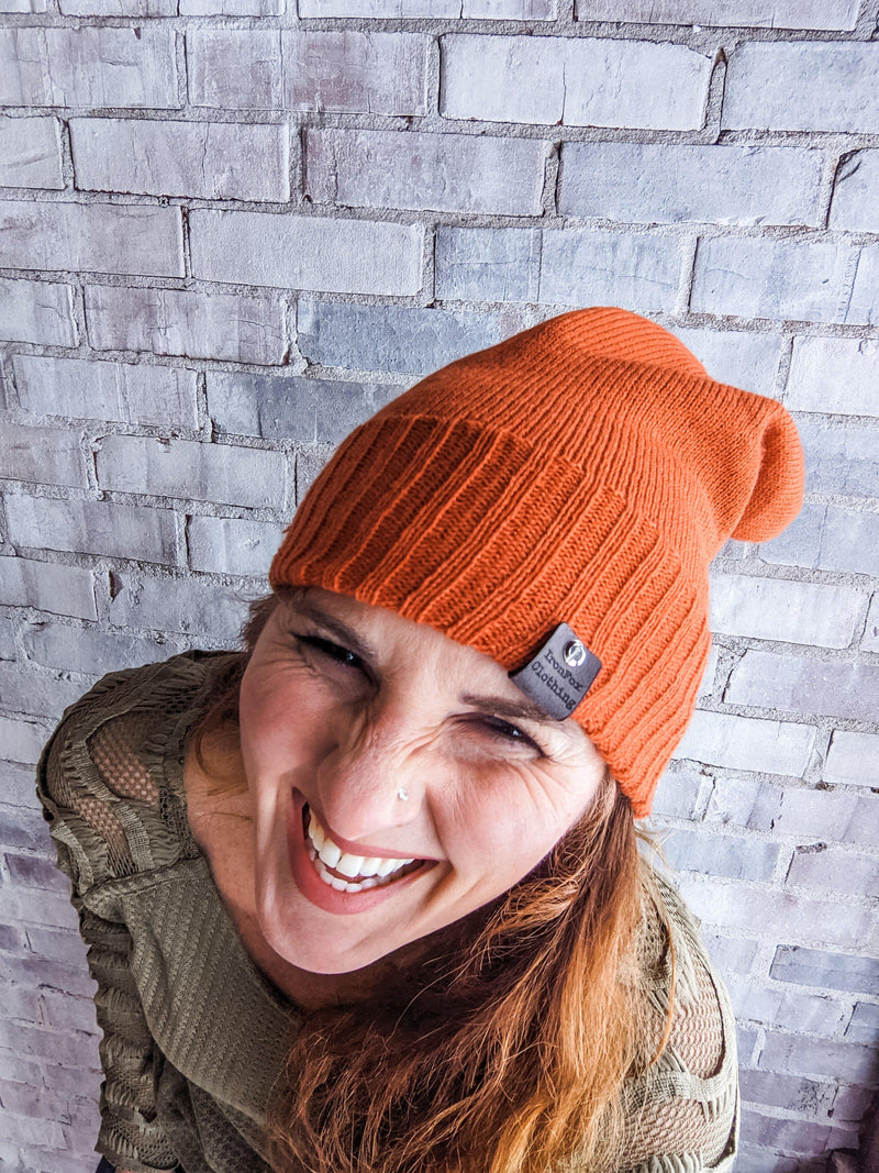 IronFox Slouch Beanie - IronFox Clothing