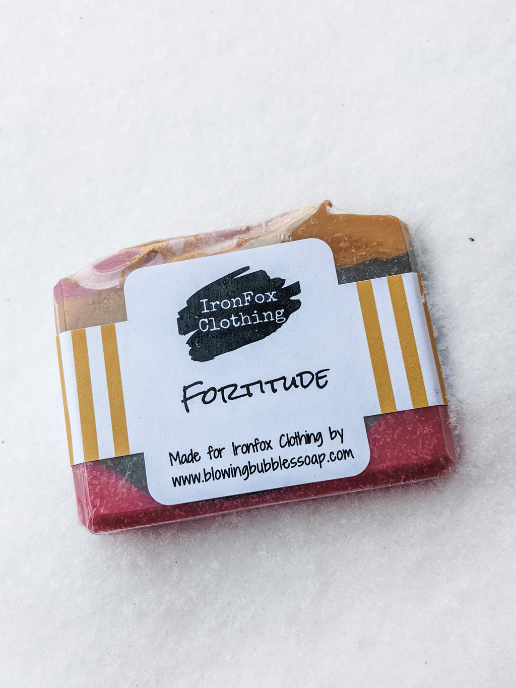 Fortitude Soap by Blowing Bubbles Soapery - IronFox Clothing