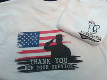 Military Donation T-Shirt
