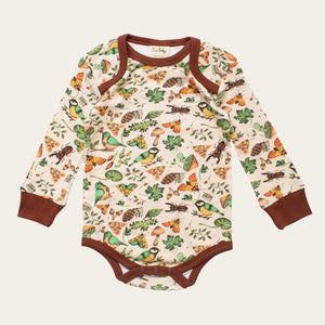Organic Cotton Baby Bodysuit - Little Forest