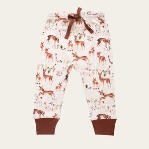 Drawstring Pants - Deer